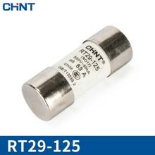 цена на CHINT Cylinder Form Fuse RT29-125(RT19-125) Core 22*58mm Fuse Insurance Tube