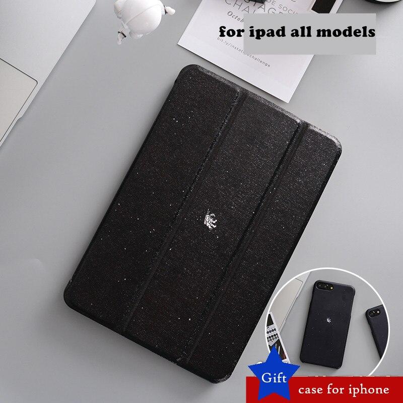 Black Case Mini4 Magnet Flip Cover For iPad Pro 10.5 12.9 9.7 2017 Air Air2 Mini 1 2 3 4 Tablet Case cover for ipad 9.7 2018 leather case flip cover for letv leeco le 2 le 2 pro black