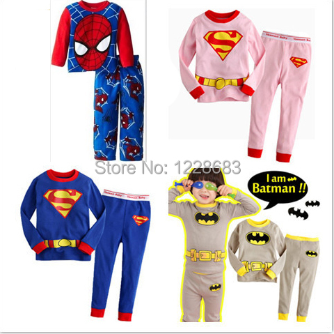 Popular Superhero Pajamas for Girls-Buy Cheap Superhero Pajamas ...