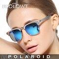 BEOLOWT mujeres UV400 gafas de Sol Polarizadas de Conducción Caja de Aleación De Aluminio Y Magnesio Gafas de Sol para las mujeres con la Caja 8 Color BL421