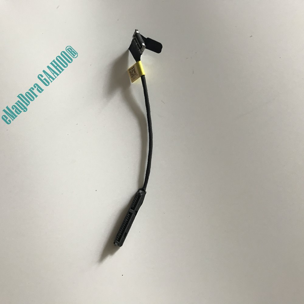 100%New laptop parts for DELL alienware 15 R1 R2 HDD  hard disk driver cable connector  0DCR9X DCR9X 10 new original sata hard disk drive interposer connector for dell alienware r3 r4 r5 m17x interposer connector