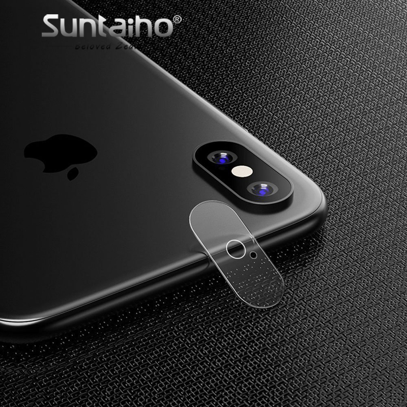 Suntaiho Back Camera Lens For iPhone X 0.2mm Full Cover Back Camera Lens Screen Protector for iPhone 7 8 Plus Protective Film