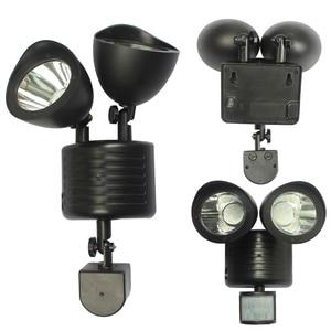 Image 5 - 450 LM 22LED Sunlight Wall Solar Lamp Outdoor Solar Lights for Garden Decoration Waterproof Led Light Motion Sensor