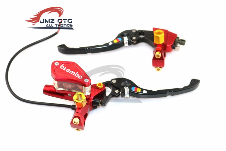 1 Paire Universal Motorcycle Brake Clutch Master Cylinder Hydraulic Pump handle For HONDA GROM MSX125 MSX125SF