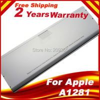 Wholesale Laptop battery For Apple A1281 A1286 (2008 Version) For MacBook Pro 15 MB470 Mb471 MB772 MB772*/A Aluminum