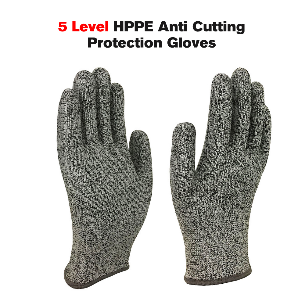 Safety Gloves Workplace Safety Supplies 1 Pair Of 5-level Anti Cutting Protection Gloves Cut-resistant Hand Protective Glove Anti Abrasion Stainless Steel Wire Regular Tea Drinking Improves Your Health