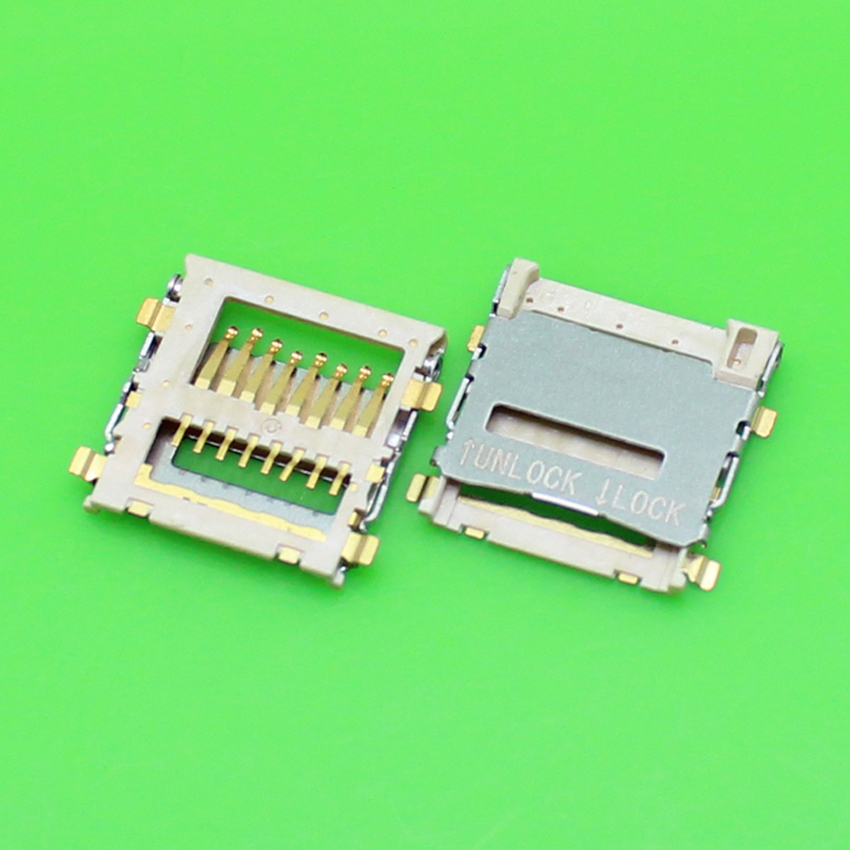 ChengHaoRan 1 Piece Sim card reader holder tray slot socket replacement parts for samsung S5600 S5603,KA-077