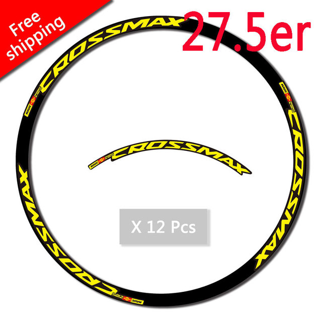 Color : 27.5 inch Yellow