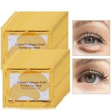 8pair=16pcs Gold Eye Mask Moisturizing Patch Sheet Masks Dark Circle Anti Wrinkle Anti-puffiness Collagen Face