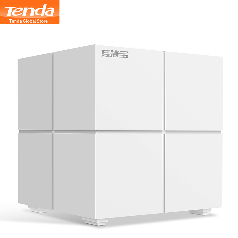 1PCS Tenda Nova MW6 Whole Home Mesh WiFi System 11AC Dual Band Wireless Router Wi Fi