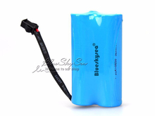 Blueskysea Rechargeable 3 7V 6400mAh Battery 18650 for T10 Bait Hook Boat Carp Fishing Boat