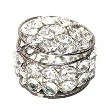 Кольцо storagesmall серьги коробка для свадебного подарка шкатулка для хрустальных украшений Размеры: L9* W9* H5cm