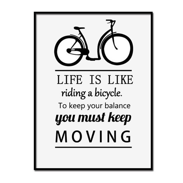 Tienda Online Impresiones de la lona montar Bicicletas mantener el ...