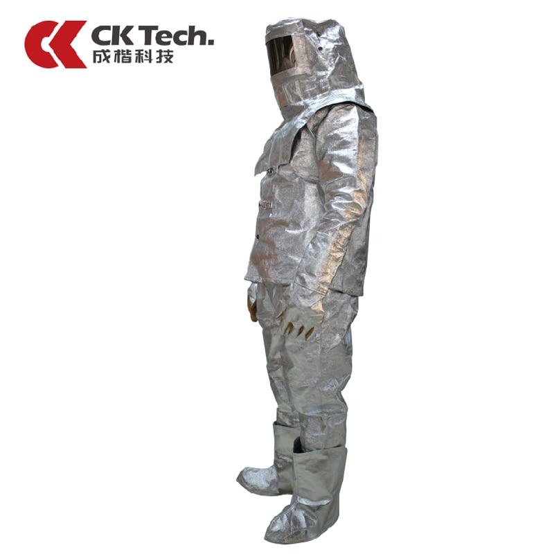 CK Tech Brand Men Work Wear Fire Heat Insulation Clothing Suit Escape1000 Degrees, Therm ...