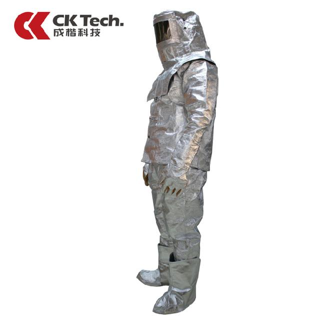 CK Tecnologia Marca Dos Homens Terno Roupas Desgaste do Trabalho de Fogo Isolamento Térmico Escape1000 Graus, Proteção Contra a Radiação térmica SuitsF020