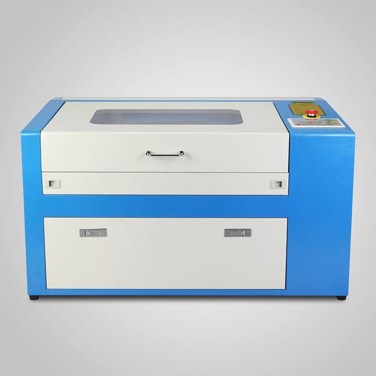 Haute précision graveur 50W CO2 Laser gravure Machine de découpe refroidi à l'eau CO2 Laser