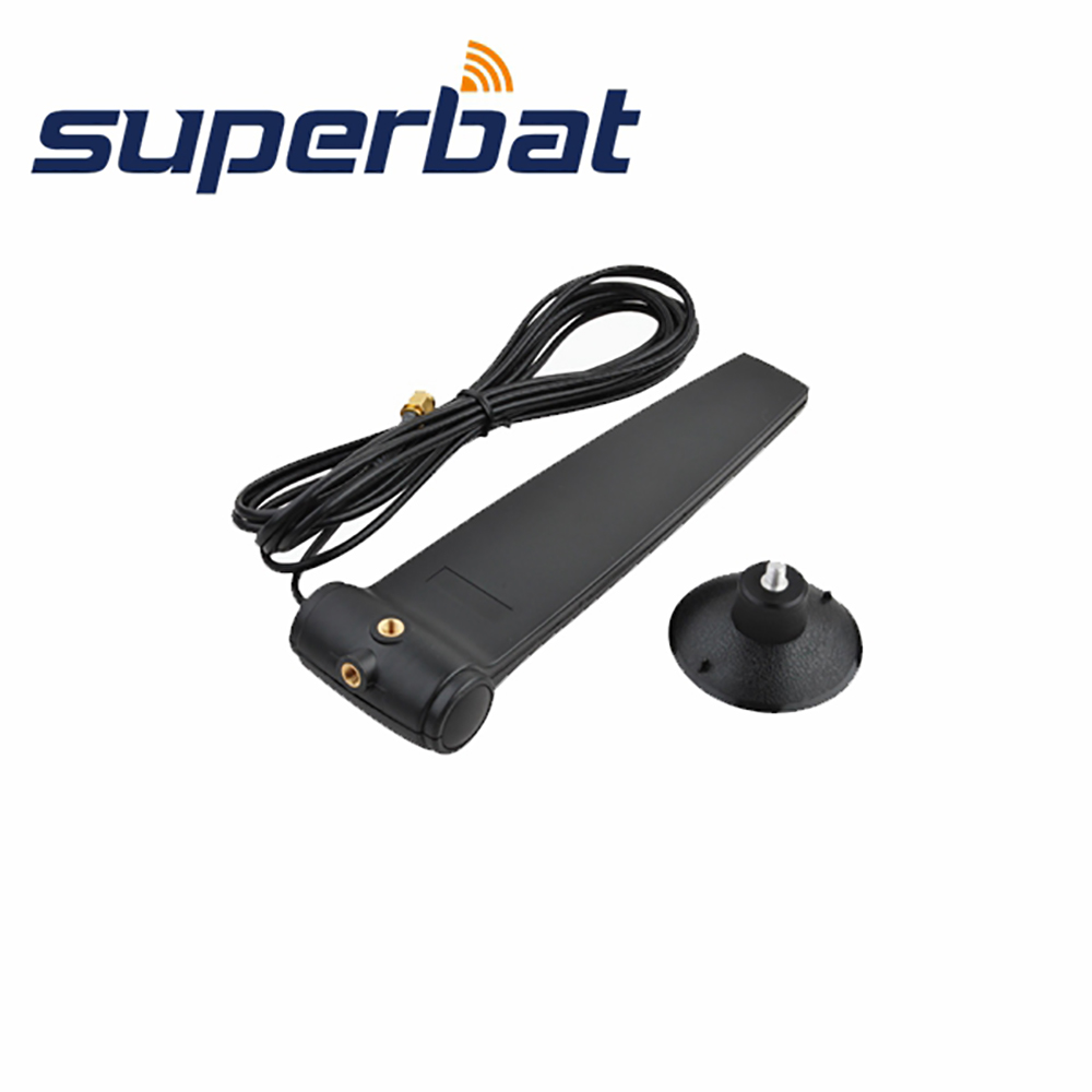 Superbat 2.4GHz 9dBi Directional WiFi Antenna Booster Wireless WLAN Aerial RP-SMA Male Plug Connector 3M Extension Cable
