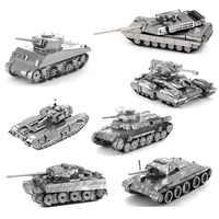 DIY puzzle tiger tank Skorpion tank Churchill tank modell