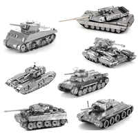 Układanka do samodzielnego złożenia tygrys czołg Scorpio zbiornik Churchill model zbiornika
