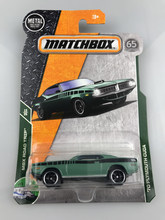 New 2018 Matchbox City Hero Traffic Series1:64 70 Playmouth Cuda Metal Diecast Cars Kids Toys Vehicle for Children Models(China)