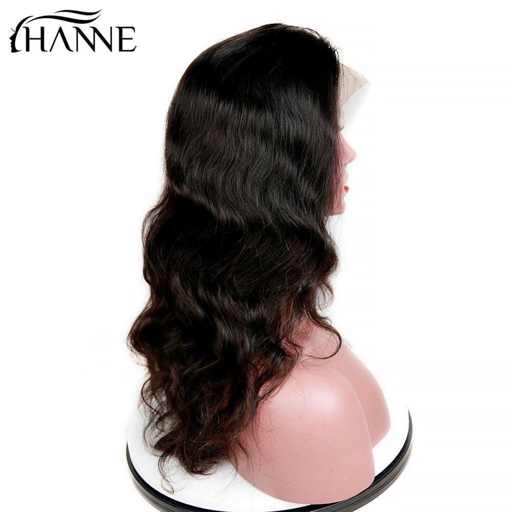 HANNE Rambut Brasil Menenun Alami Rambut Manusia Wig untuk Wanita - Pasokan kecantikan - Foto 3
