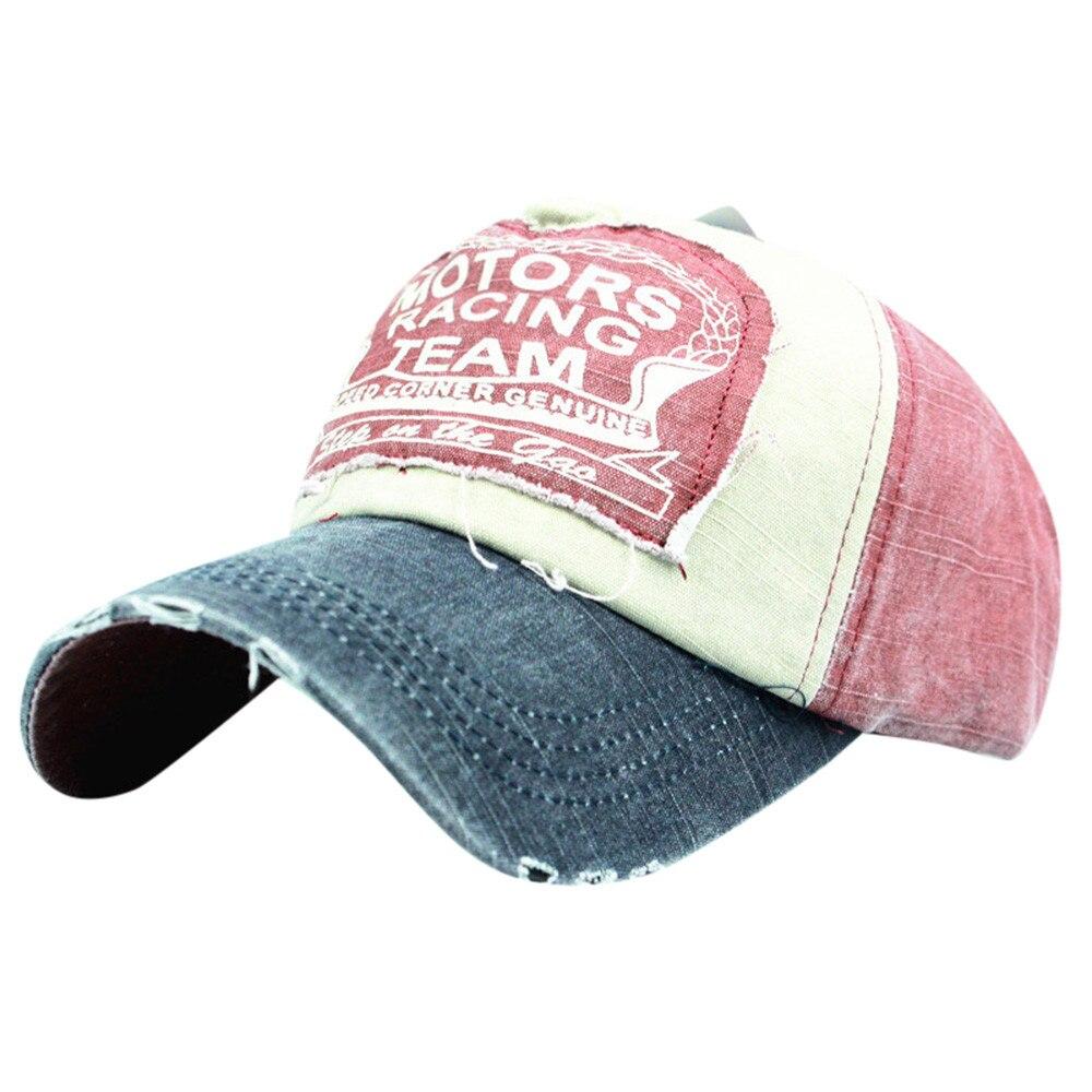 Letter Embroidery Washed  Baseball Caps Men Hats Dad Hat For Women Hip Hop Street Dance Snapbcak Flat Summer Sun Ha Casquette #M бейсболк мужские