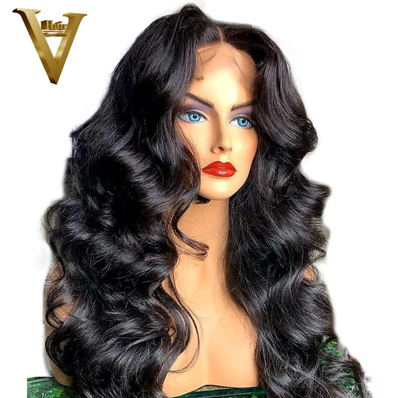 250 Density 360 Lace Frontal Wig Loose Wave Pre Plucked With Baby Hair Malaysia Remy Lace