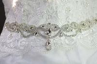 1 sztuk rhinestone przycinanie skrzydeł wesele podwiązki opaski diy dodatki ślubne a547