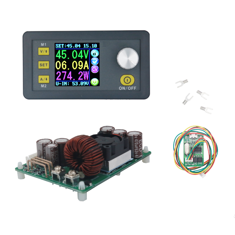 DPS5020 constant voltage current programmable control power supply module Step-down communication converter LCD voltmeter 20%off 10a dc power adjustable step down dc constant voltage constant current power supply module lcd screen
