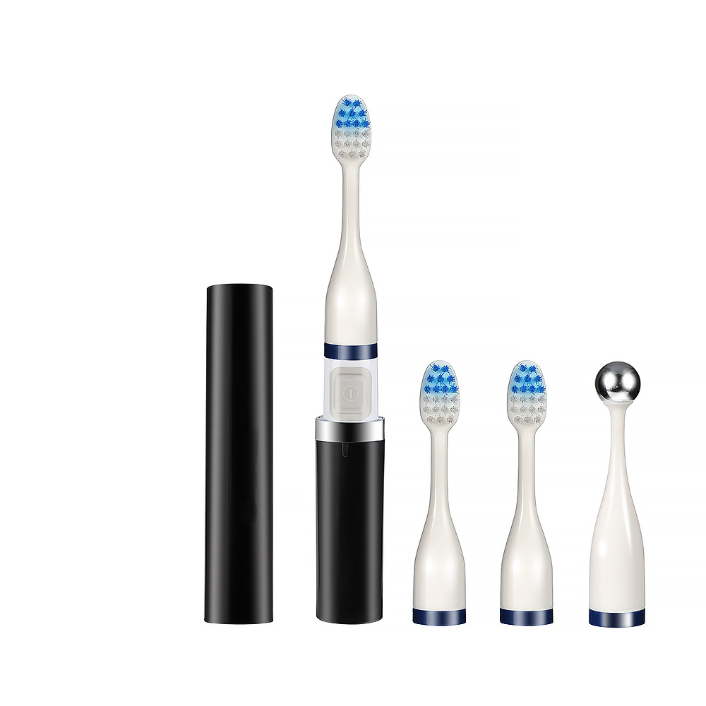 Ultrasonic Electric Toothbrush Adult Operated 2 Brush Heads Oral Hygiene Health Products Can't Rechargeable Power By AAA Battery