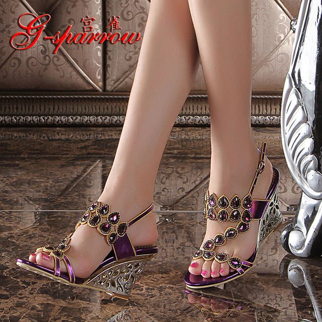 dfc1b3e586d8e 2018 New High Heels Wedges Sandals Most Comfortable Summer Shoes For Work  Fashion Shoe Designers