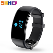 SKMEI New Smart Wrist Band Touch Screen Waterproof Heart Rate Monitor Wristband Fitness Tracker Bracelet  for IOS Android D21