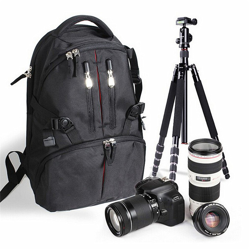 Camera cage Professional Camera Bag Waterproof Shockproof Digital SLR DSLR Soft Padded Backpack Suitable For Canon For Nikon
