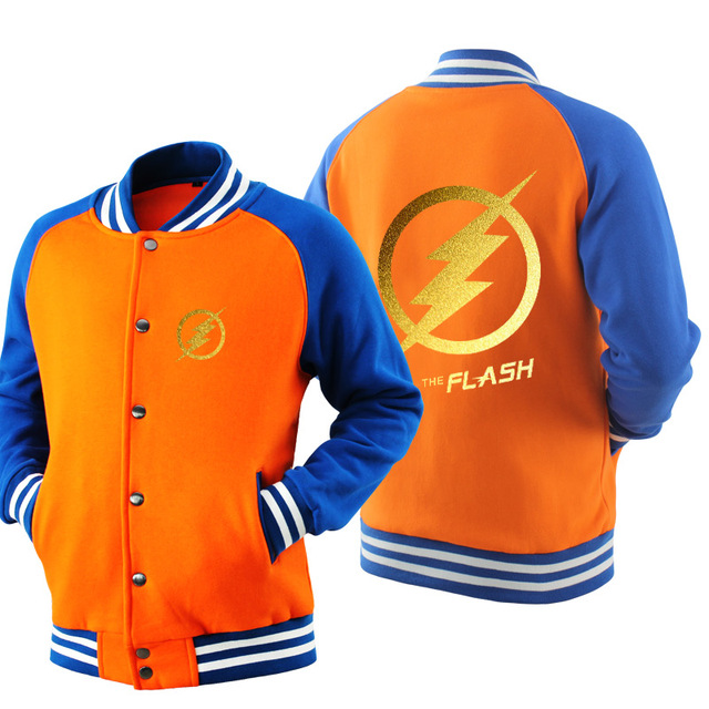 The Flash Baseball Jacket