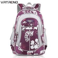 1abddf9fab310 Vrtrend الثانوية للبنات الابتدائية الاطفال حقائب عالية الجودة حجم سعة كبيرة  حقائب مدرسية للأطفال الفتيات(