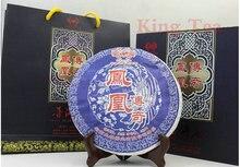 2011 Tu Lin Feng Huang ( leyenda en caja ) Beeng torta 400 g YunNan ecologico té crudo de Pu'er Sheng Cha pérdida de peso belleza delgada