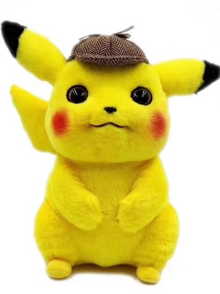 20cm Pokemon Detective Pikachu Plush Toy Cute Anime Plush Toys