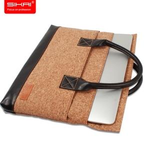 Image 5 - Новый портативный портфель KUMON для ноутбука, сумка для ноутбука Huawei MateBook, водонепроницаемый чехол для Macbook, для Dell