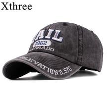 Xthree New men's cap baseball hat for men