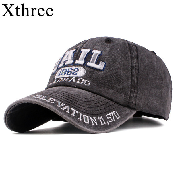 Xthree New men s cap baseball hat for men street wear women dad hat  embroidery casual cap casquette hip hop cap 9a77f852d563