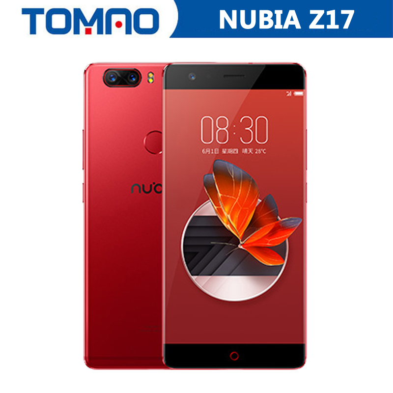 New Original Nubia Z17 5 5 4G LTE Mobile Phone Snapdragon 835 1920 1080P 6G RAM