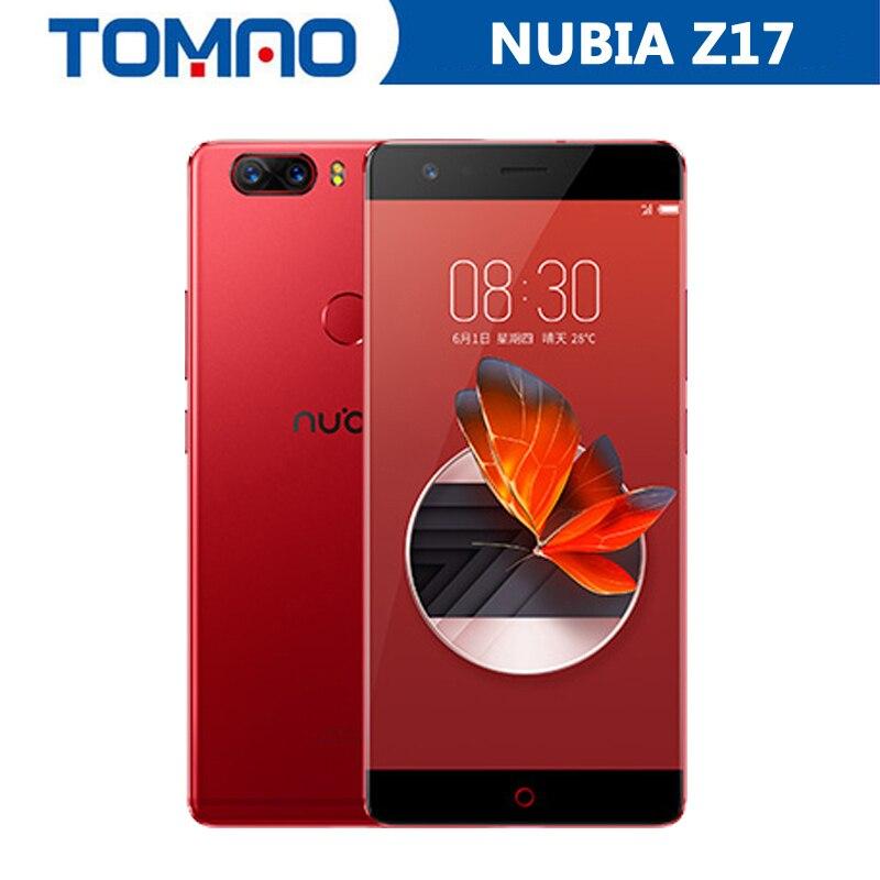 Nowy oryginalny Nubia Z17 5.5 ''calowy 4G LTE mobilny telefon Snapdragon 835 1920*1080P 6G RAM 64GB ROM podwójna kamera tylna 3200 mAh odcisk palca w Telefony Komórkowe od Telefony komórkowe i telekomunikacja na AliExpress - 11.11_Double 11Singles' Day 1