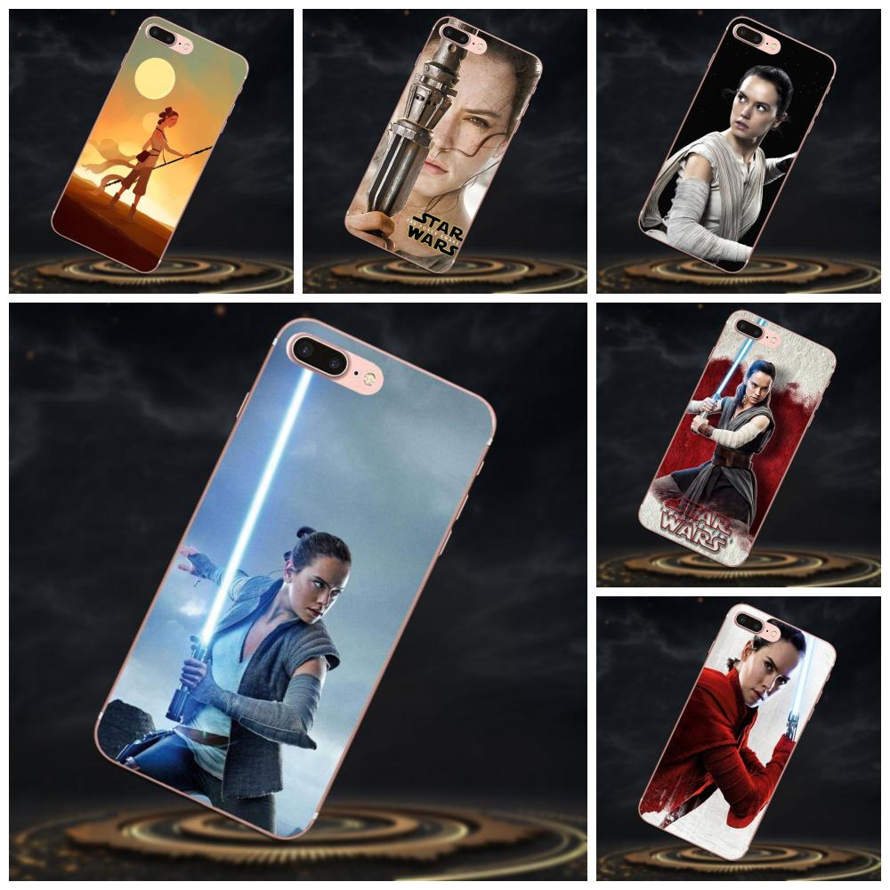 For Huawei P8 P9 P10 P20 P30 Mate 7 8 9 10 20 Lite Plus Pro 2017 Soft Cases Cover Popular Movie Star Wars Rey Women image