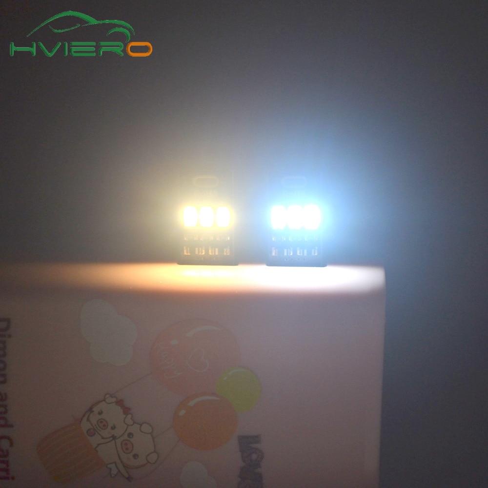 5 sztuk Przenośny Mini USB Zasilanie Lampka nocna 3LED Lampka nocna - Lampki nocne - Zdjęcie 6