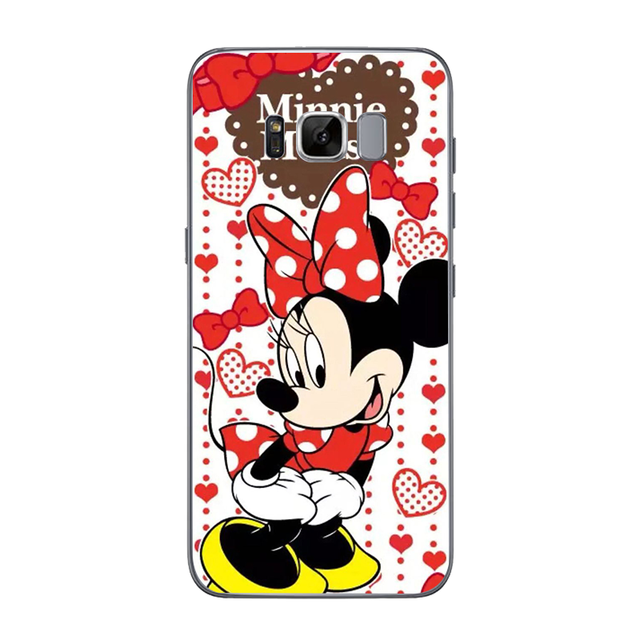Cover Soft TPU For Samsung Galaxy S5 S6 S7 Edge S8 S9 Plus A3 A5 A8 2016 2017 2018 J2 J3 J5 J7 Grand Prime Mickey Minne Cases
