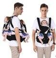 Doble correa de la cintura con la función multi banco delantero tipo holding bebé sling back cintura heces bebé cinturón de mochila
