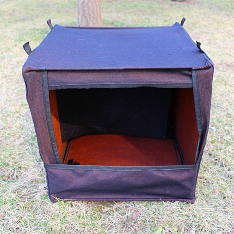 Outdoor shooting bullet collector Silence target box 40*40cm slingshot dedicated shooting target Slingshot Steel Balls bullet