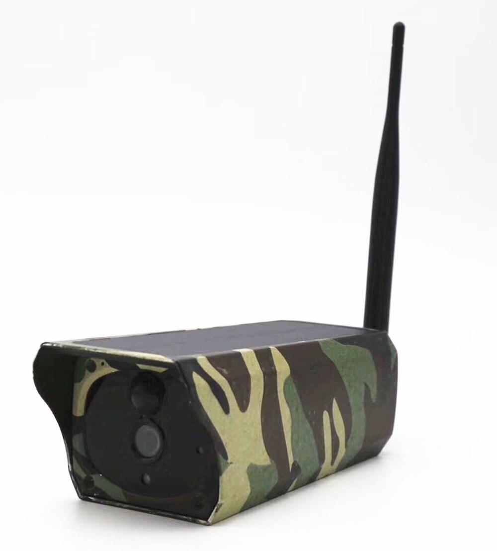 2MP 1080 p Senza Fili Solare IP Camera Baby Monitor Con Hotspot AP Collegamento