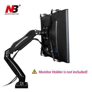 Image 3 - NB FP 1 удлинитель VESA адаптер крепежный кронштейн держатель монитора для 17 27 дюймов без монтажного отверстия монитора крепление ЖК дисплея
