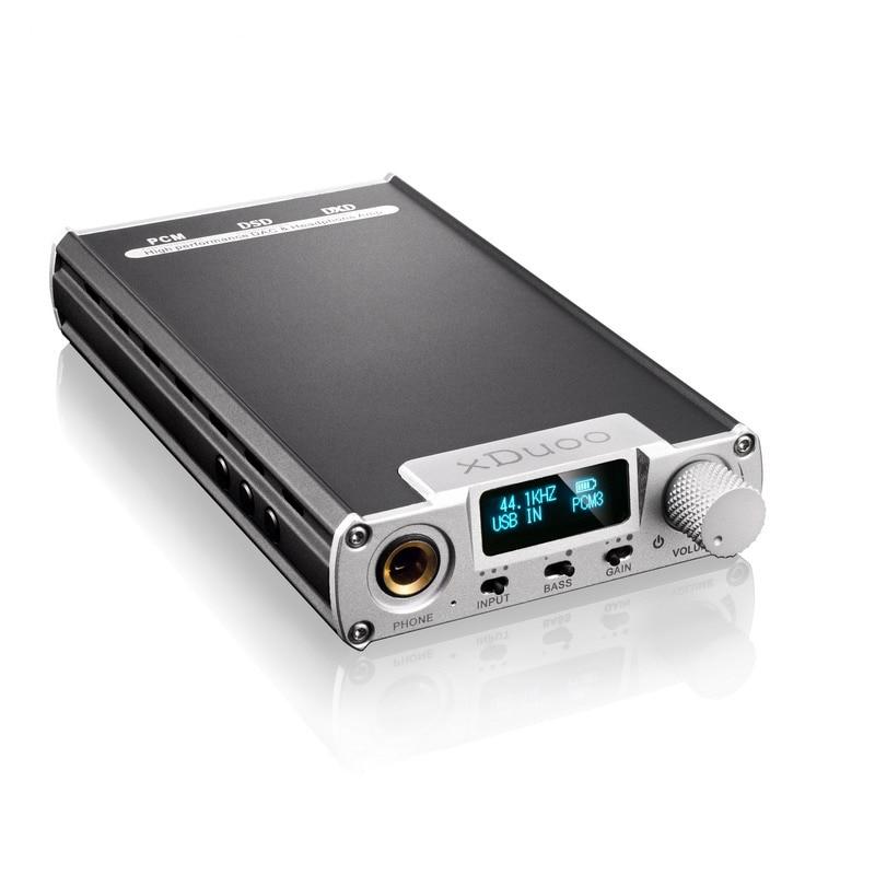 XDUOO XD-05 Portatile Audio DAC e AMPLIFICATORE Per Cuffie 32bit/384 khz Nativo DSD256 PCM 384 khz Decodifica DSD DXD 384 khz con display OLED